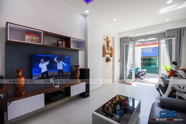 Ảnh chụp thực tế nhà phố 3 tầng tại Biên Hòa, Đồng Nai (3,6m x 15m) 2