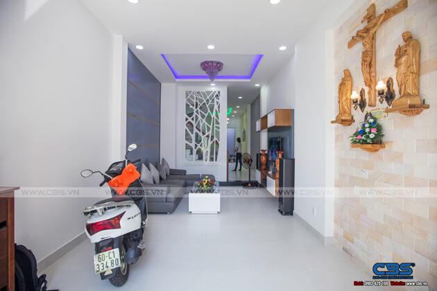 Ảnh chụp thực tế nhà phố 3 tầng tại Biên Hòa, Đồng Nai (3,6m x 15m) 4