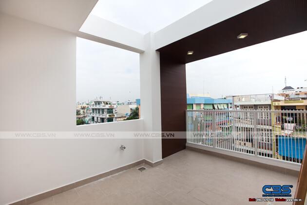 Nhà phố 4 tầng với gam màu trắng chủ đạo tuyệt đẹp trên mọi góc nhìn 24