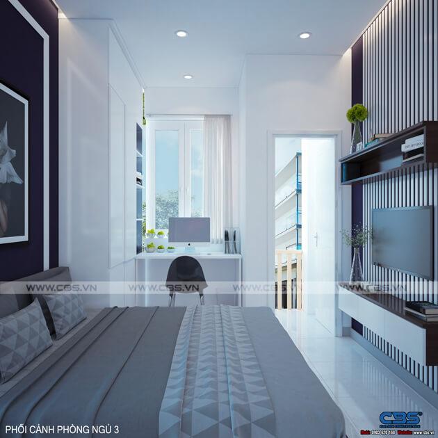 Mẫu thiết kế nhà phố 4 tầng lầu đẹp chỉ với diện tích 30m2 11