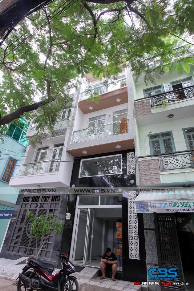 Nhà phố 6 tầng lầu 4m x 12m - thiết kế đơn giản, tinh tế 2