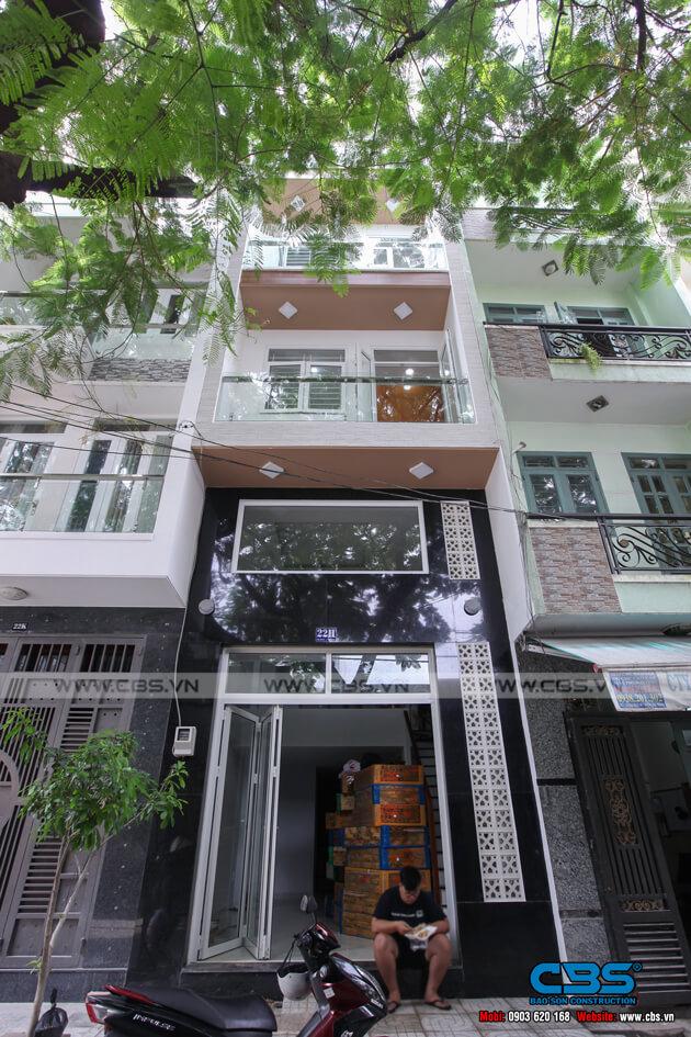 Nhà phố 6 tầng lầu 4m x 12m - thiết kế đơn giản, tinh tế 3