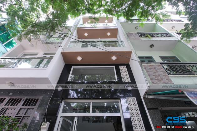 Nhà phố 6 tầng lầu 4m x 12m - thiết kế đơn giản, tinh tế 1