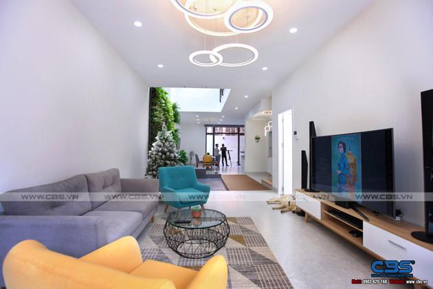 Hình chụp thực tế nhà phố 7m x 24m tuyệt đẹp theo phong cách hiện đại, tối giản 2