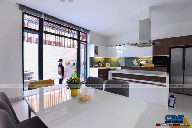 Hình chụp thực tế nhà phố 7m x 24m tuyệt đẹp theo phong cách hiện đại, tối giản 12