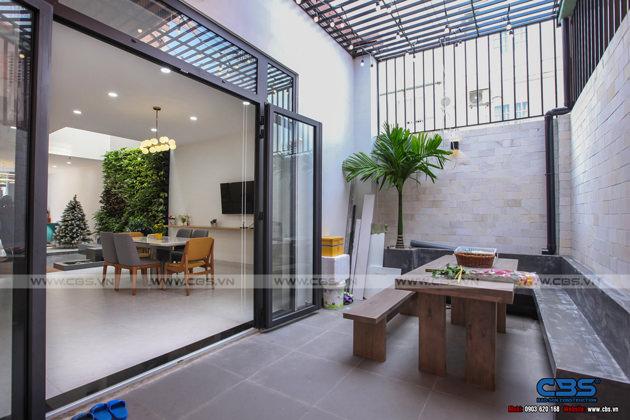 Hình chụp thực tế nhà phố 7m x 24m tuyệt đẹp theo phong cách hiện đại, tối giản 13