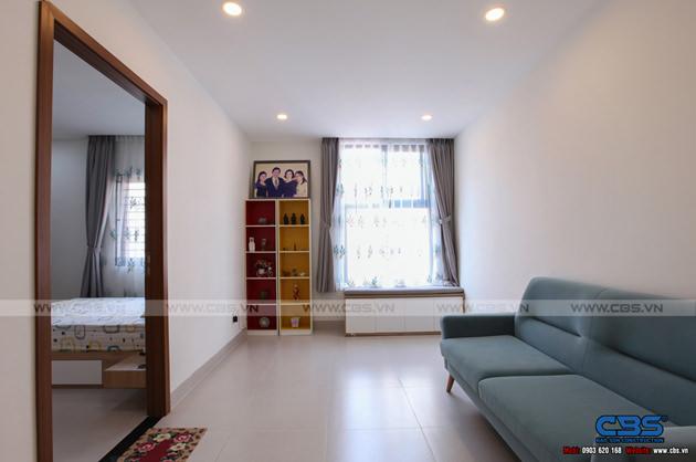 Hình chụp thực tế nhà phố 7m x 24m tuyệt đẹp theo phong cách hiện đại, tối giản 26