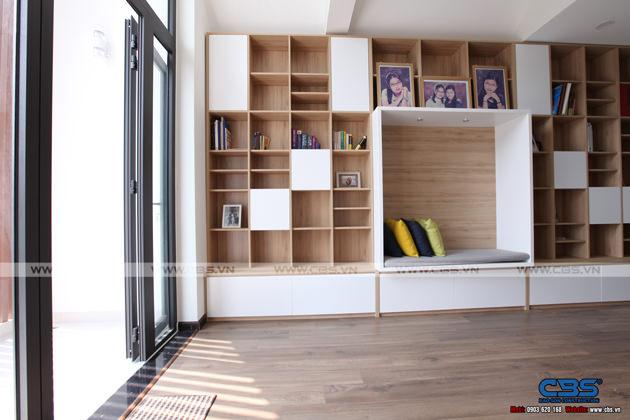 Hình chụp thực tế nhà phố 7m x 24m tuyệt đẹp theo phong cách hiện đại, tối giản 35