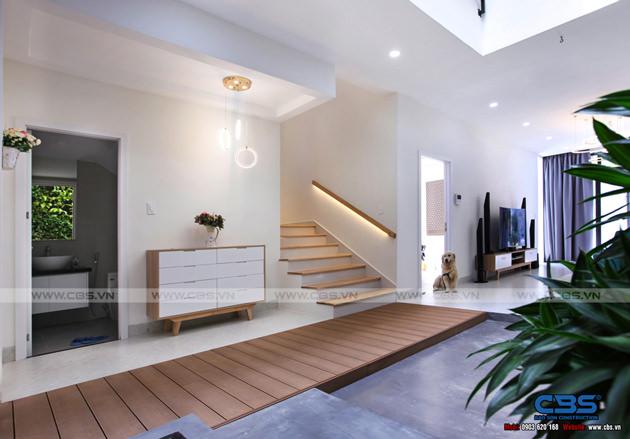 Hình chụp thực tế nhà phố 7m x 24m tuyệt đẹp theo phong cách hiện đại, tối giản 6