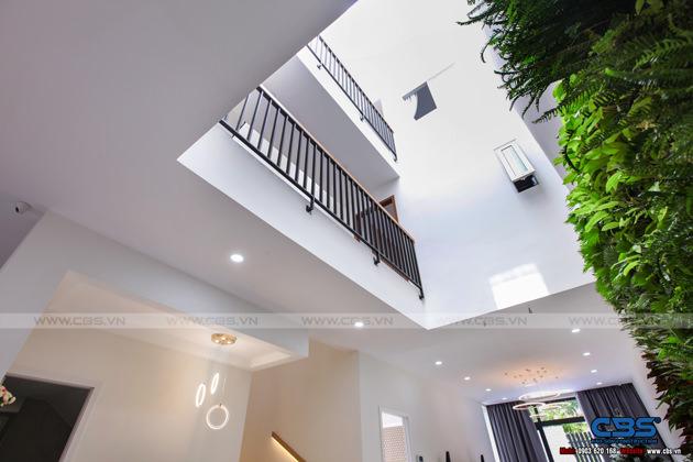 Hình chụp thực tế nhà phố 7m x 24m tuyệt đẹp theo phong cách hiện đại, tối giản 7