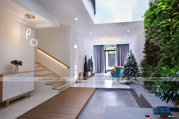 Hình chụp thực tế nhà phố 7m x 24m tuyệt đẹp theo phong cách hiện đại, tối giản 8