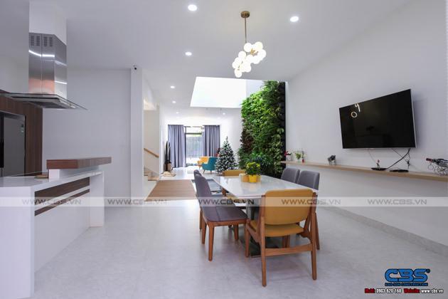 Hình chụp thực tế nhà phố 7m x 24m tuyệt đẹp theo phong cách hiện đại, tối giản 9
