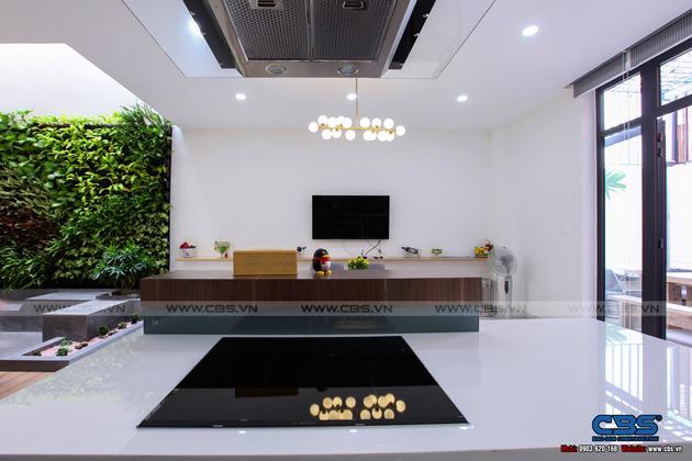 Hình chụp thực tế nhà phố 7m x 24m tuyệt đẹp theo phong cách hiện đại, tối giản 10