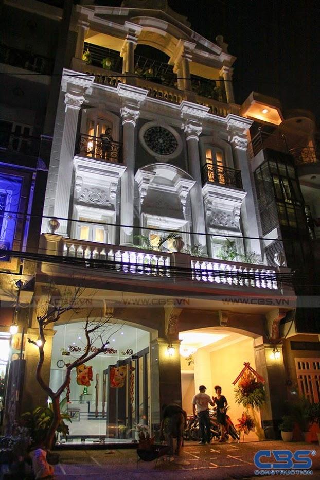 Nhà phố 8m x 18m đẹp mê ly với kiến trúc cổ Châu Âu 2