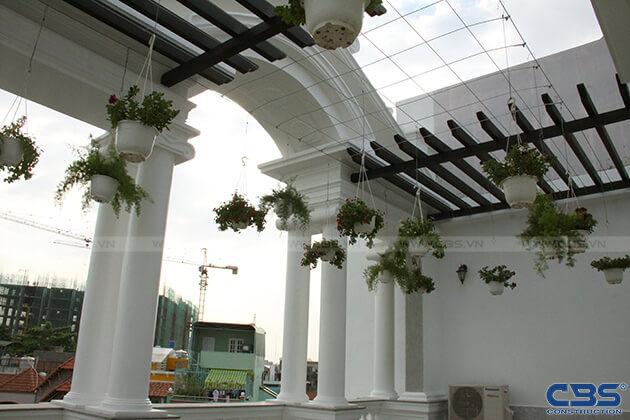 Nhà phố 8m x 18m đẹp mê ly với kiến trúc cổ Châu Âu 16