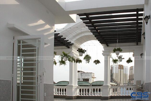 Nhà phố 8m x 18m đẹp mê ly với kiến trúc cổ Châu Âu 17