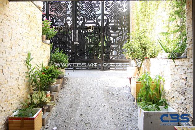 Vẻ đẹp của mảng xanh trong những ngôi nhà phố hiện đại 20