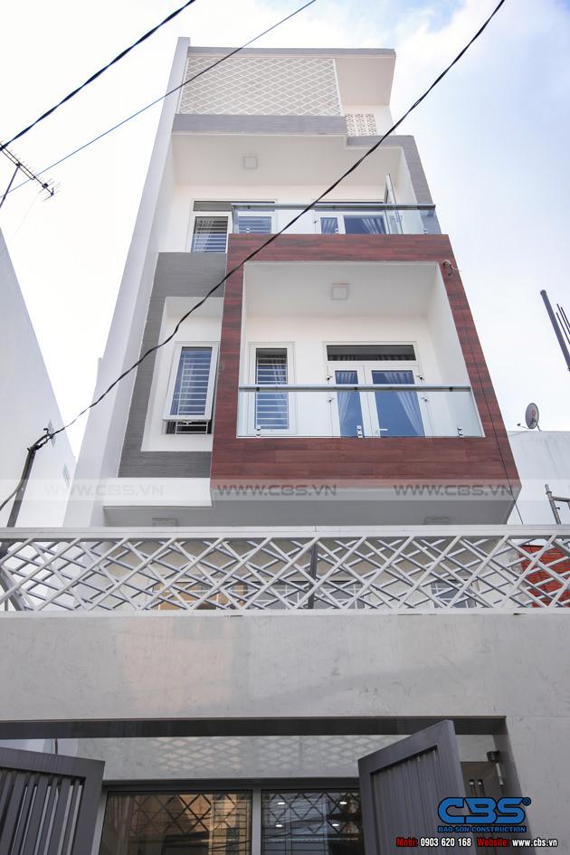 Hình chụp nhà phố hiện đại, thông thoáng (4m x 16m) 38