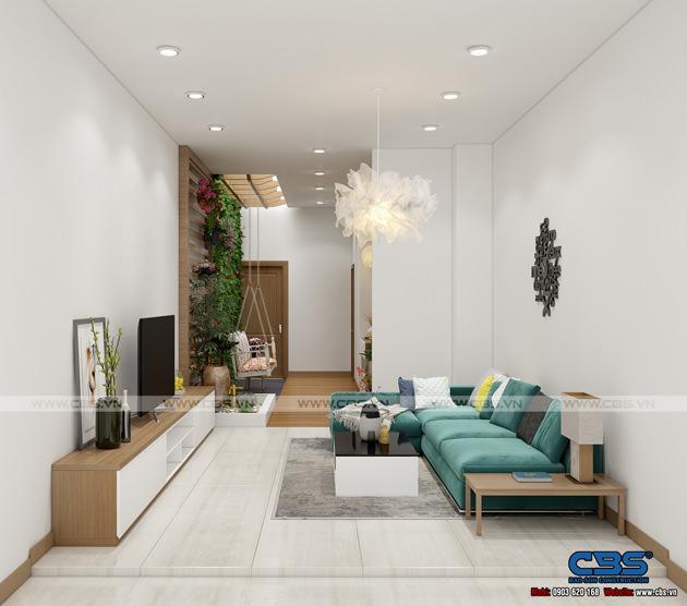 Mẫu thiết kế nhà phố hiện đại 4m x 18m đẹp ngất ngay với gỗ tự nhiên làm chủ đạo 3
