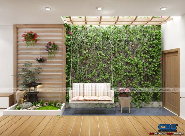 Mẫu thiết kế nhà phố hiện đại 4m x 18m đẹp ngất ngay với gỗ tự nhiên làm chủ đạo 5