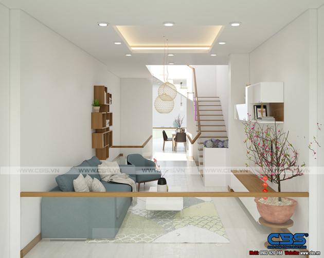 Mẫu thiết kế nhà phố hiện đại 4m x 18m đẹp ngất ngay với gỗ tự nhiên làm chủ đạo 7