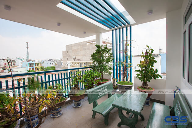 Vẻ đẹp của mảng xanh trong những ngôi nhà phố hiện đại 10