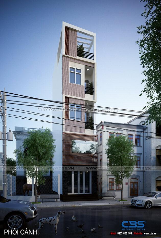 Mẫu thiết kế cho nhà phố nhỏ 3,3m x 8,2m 23