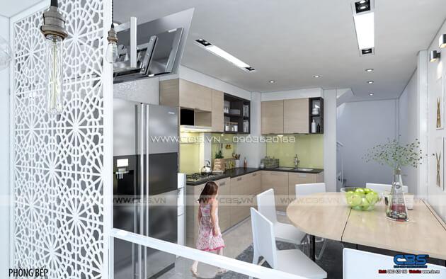 Mẫu thiết kế cho nhà phố nhỏ 3,3m x 8,2m 7
