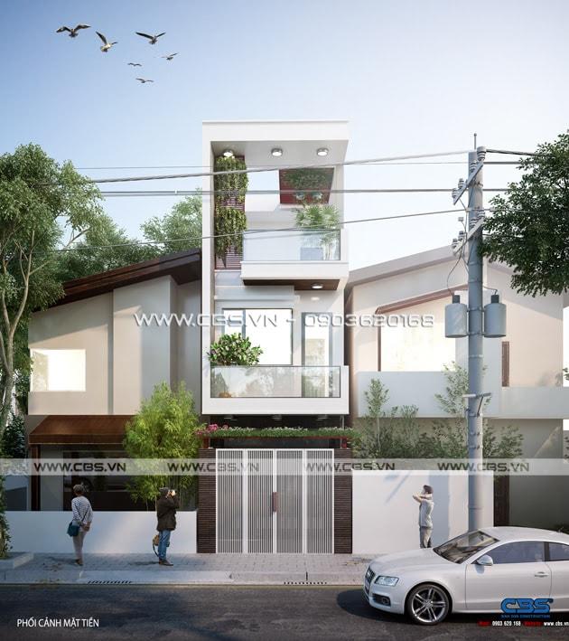Nhà phố phong cách trẻ trung hiện đại - diện tích 3,6m x 15m (tại Biên Hòa) 2