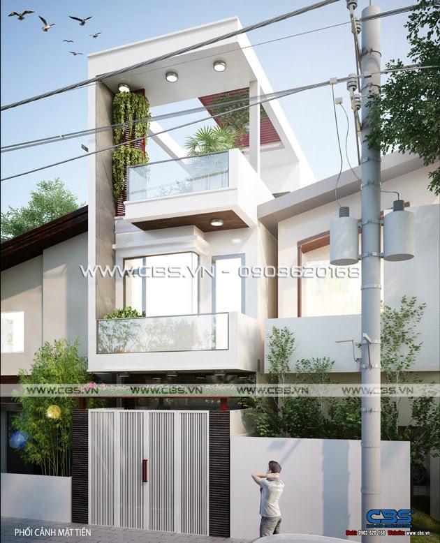 Nhà phố phong cách trẻ trung hiện đại - diện tích 3,6m x 15m (tại Biên Hòa) 1