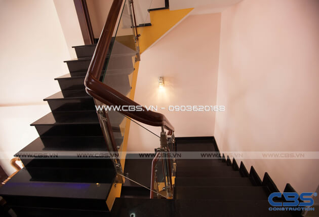 Những mẫu cầu thang đẹp phổ biến cho nhà phố 13