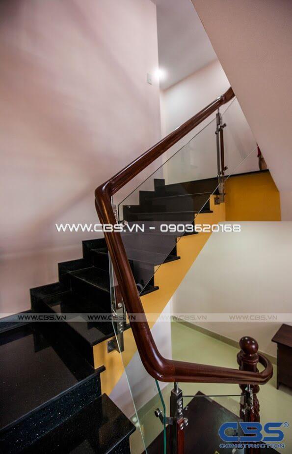 Những mẫu cầu thang đẹp phổ biến cho nhà phố 15