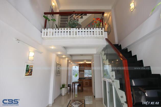 Những mẫu cầu thang đẹp phổ biến cho nhà phố 16