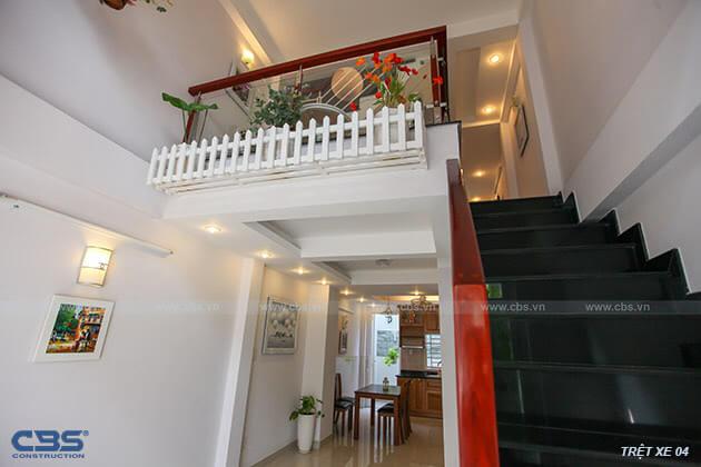 Những mẫu cầu thang đẹp phổ biến cho nhà phố 17