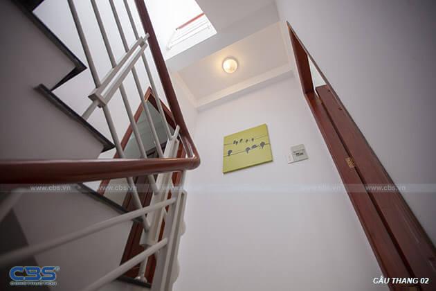 Những mẫu cầu thang đẹp phổ biến cho nhà phố 20