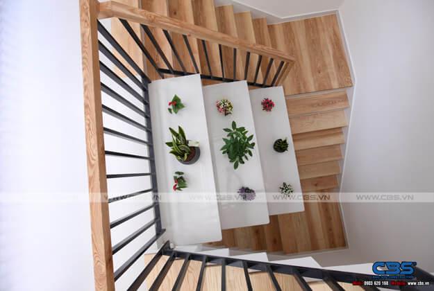Những mẫu cầu thang đẹp phổ biến cho nhà phố 44