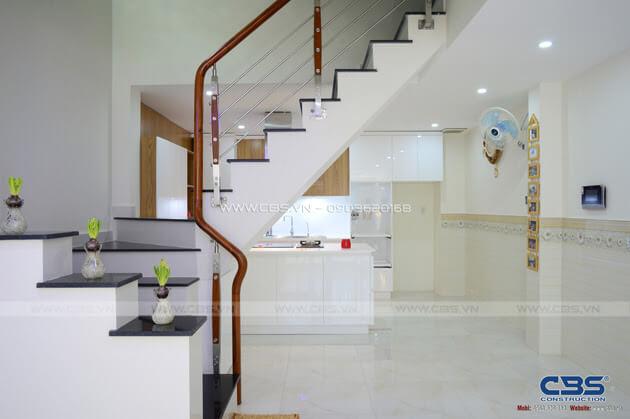 Những mẫu cầu thang đẹp phổ biến cho nhà phố 7