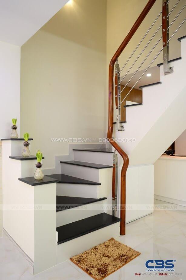 Những mẫu cầu thang đẹp phổ biến cho nhà phố 8