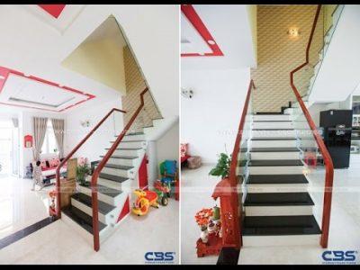 Những mẫu cầu thang đẹp mắt phổ biến cho nhà phố
