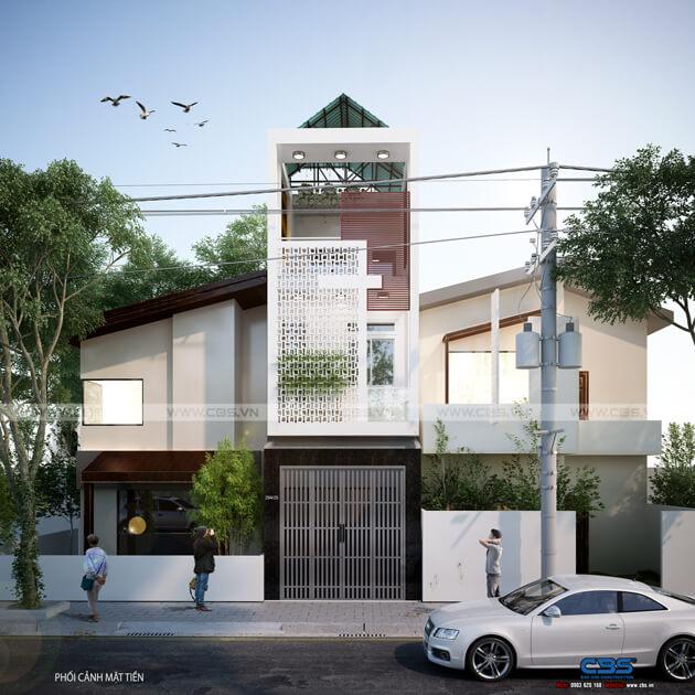 Những mẫu thiết kế mặt tiền dành cho các ngôi nhà phố nhỏ 4