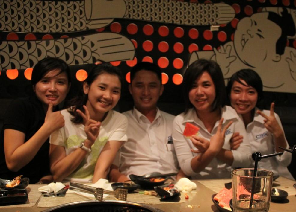 Niềm vui của tập thể công ty Bảo Sơn sau những ngày làm việc (5-2013) 39