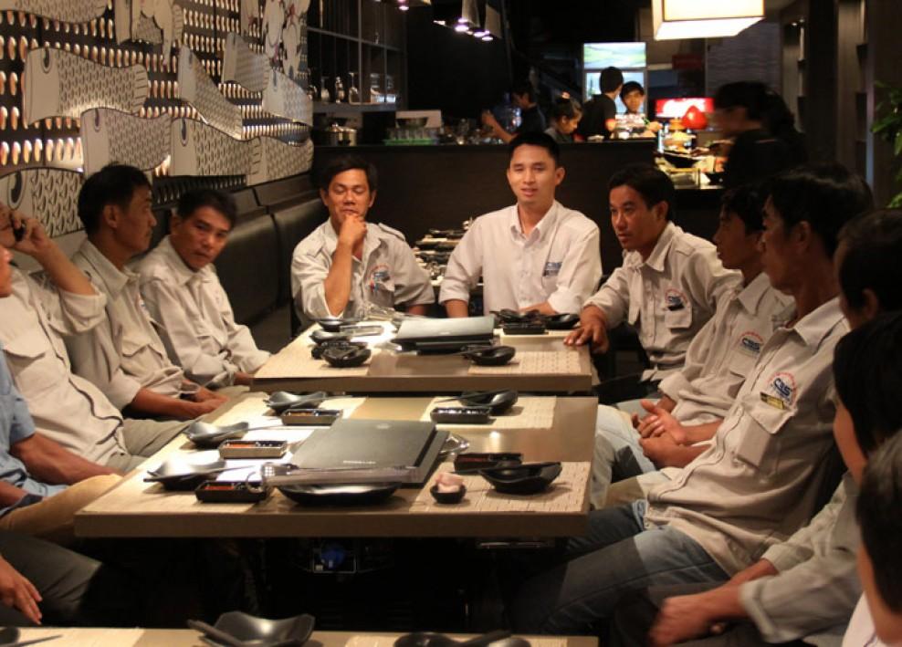 Niềm vui của tập thể công ty Bảo Sơn sau những ngày làm việc (5-2013) 29