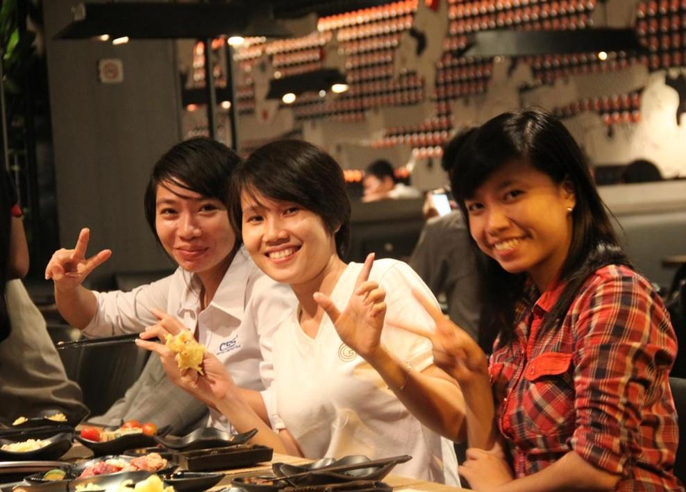 Niềm vui của tập thể công ty Bảo Sơn sau những ngày làm việc (5-2013) 34