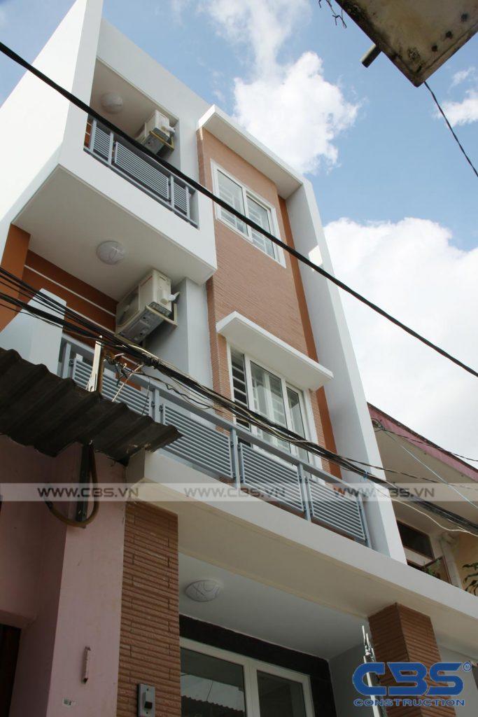 Xây dựng mới nhà ông Hoán, Tân Phú 2