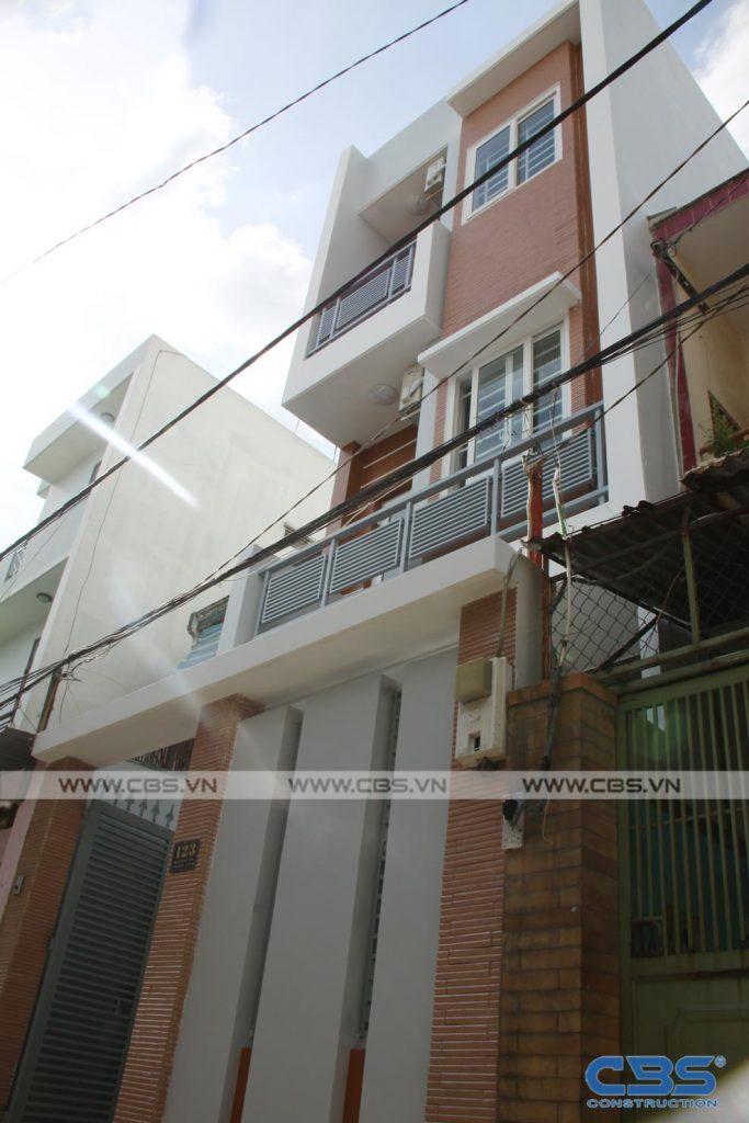 Xây dựng mới nhà ông Hoán, Tân Phú 4