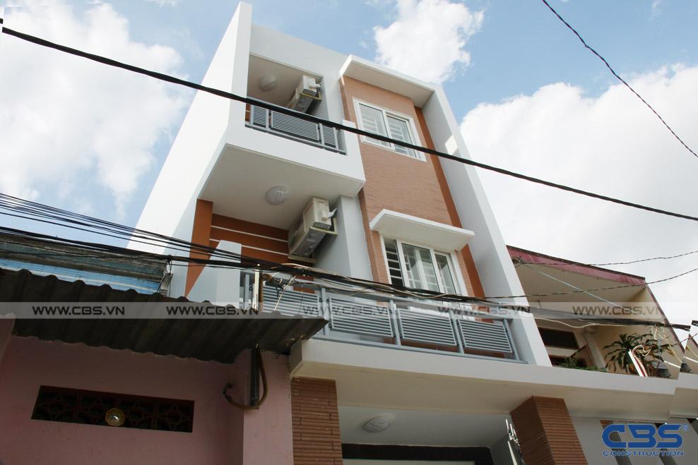 Xây dựng mới nhà ông Hoán, Tân Phú 1