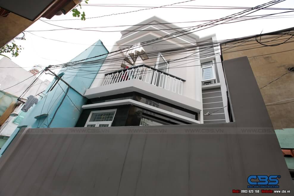 Xây dựng mới nhà cô Phượng, Quận Gò Vấp 11