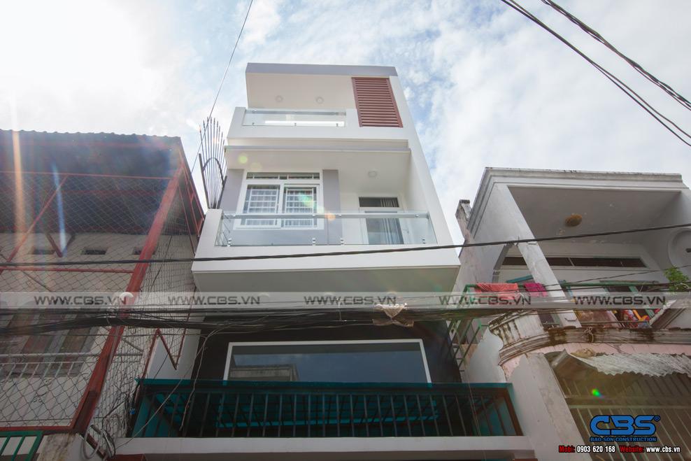 Xây dựng mới nhà cô Phương, Gò Vấp 20