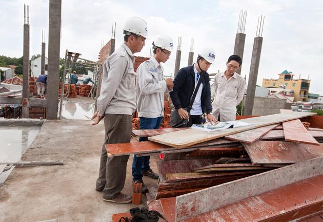 Công ty xây dựng quận Tân Phú 1