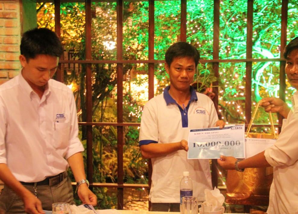 Tiệc tất niên tổng kết cuối năm 2012 4